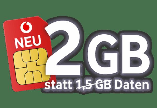 Vodafone CallYa Freikarte - Kostenlose SIM-Karte