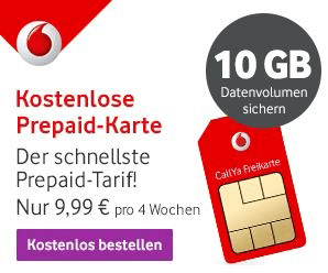 vodafone freikarte kostenlose prepaid sim karte im 4g. Black Bedroom Furniture Sets. Home Design Ideas