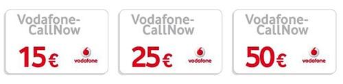 Vodafone Prepaid Karte aufladen