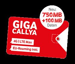 CallYa Freikarte: Kostenlose Prepaid SIM-Karte von Vodafone